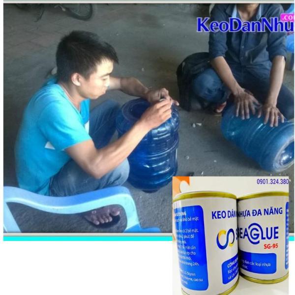 Keo Dán Nhựa SeaGlue Dán Bình Pét,Bồn Nhựa Chịu Nước,Bám Dính Tốt