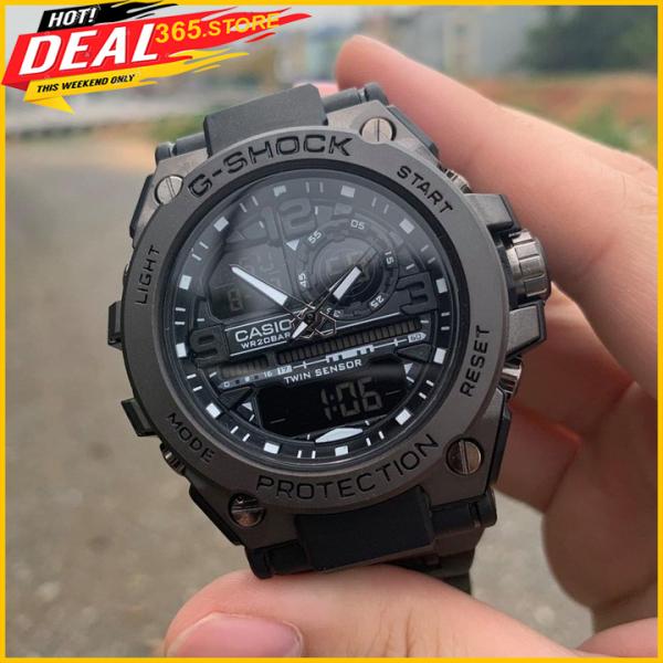 Đồng Hồ Thể Thao Casio G-Shock GTS 8600, Viền Thép Không Gỉ, 55mm Nam Tính, Mạnh Mẽ - 365.store bán chạy