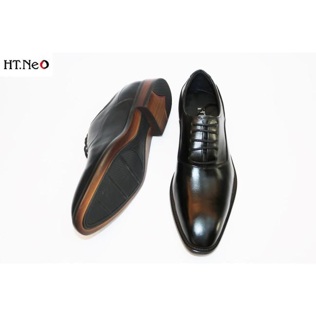 Giày Tây Đế Phíp Nam 💖 Ht.Neo 💖 Da Bò Đế Phíp (Gỗ) Kiểu Dáng Đơn Giản Thiết Kế Thời Thượng Phong Cách Lịch Sự (Gt05) giá rẻ