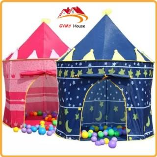 Lều Công Chúa - Hoàng Tử Cho Bé Gái Và Bé Trai - Lều Hình Lâu Đài Cho Bé Thỏa Sức Vui Chơi thumbnail