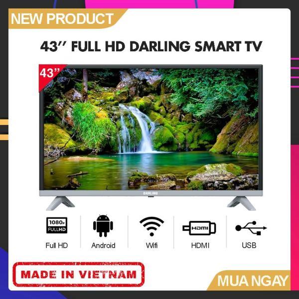 Bảng giá Smart TV Darling 43 inch Full HD - Model 43FH960S (Hệ điều hành Android, Tích hợp DVB-T2, Wifi) - Bảo Hành 2 Năm