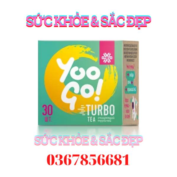 [Mẫu mới] Trà Yoo go Turbo Tea Body T Siberian Health - 30 túi - Date T1/2023 cao cấp
