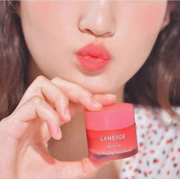 Ủ Môi Laneige 3g - Mặt nạ ngủ dưỡng hồng môi, mềm môi