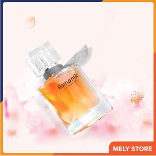 Nước hoa nữ cao cấp chính hãng thơm lâu quyến rũ Romantic hương thơm tươi mát, mùi ngọt ngào dịu nhẹ, lãng mạn tạo cảm giác nhẹ nhàng nữ tính hiện đại, dạng xịt, nhỏ gọn bỏ túi, nước hoa nữ mini giá rẻ 25ml Melystore PN020 thumbnail