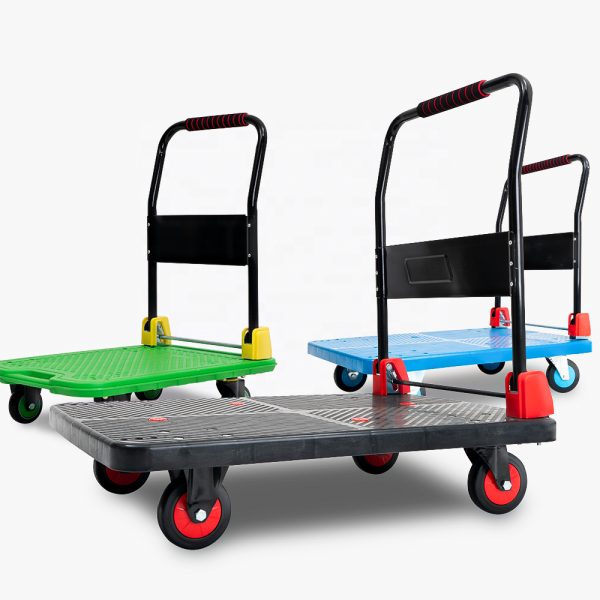 Xe Đẩy Hàng Gấp Gọn - 300Kg - the Rubee - Dùng cho gia đình, chung cư, mua sắm, dã ngoại
