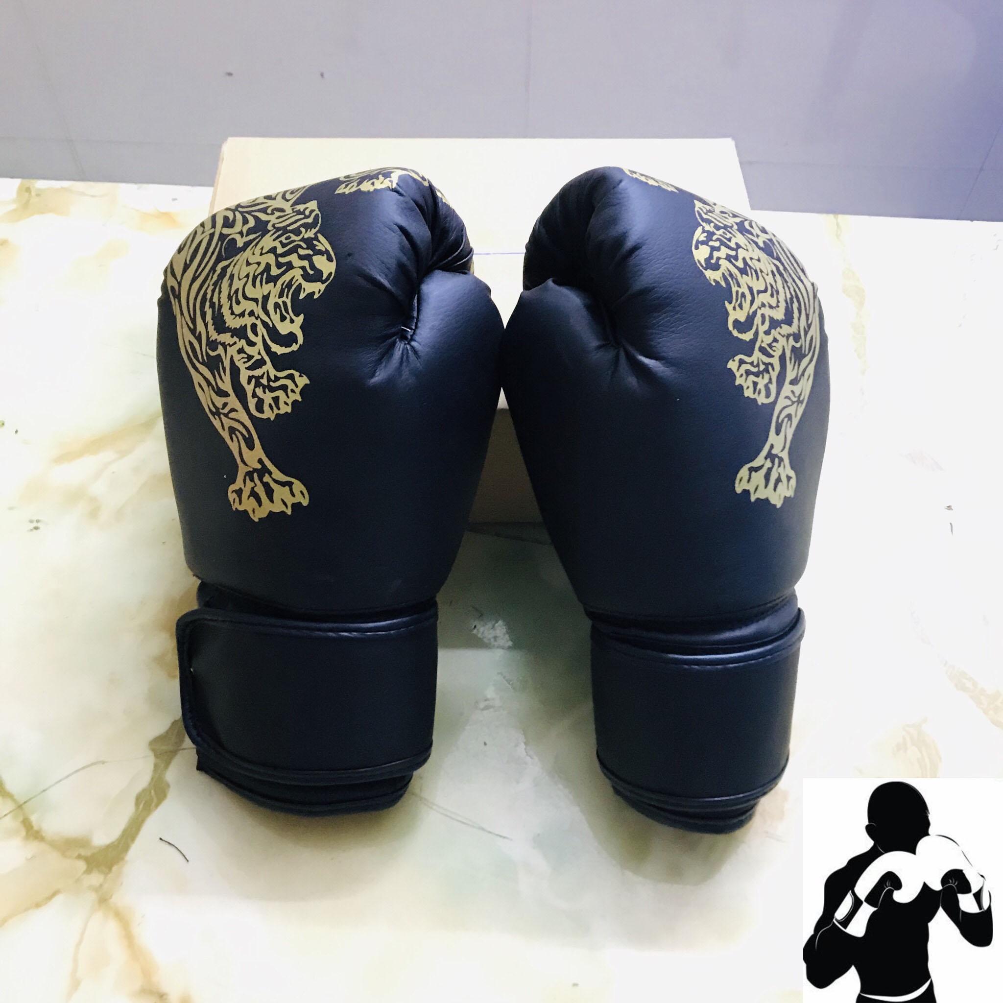 Găng Bao Tay đấm Bốc, Boxing Cho Người Lớn – Hoa Văn Con Hổ Giá Siêu Rẻ