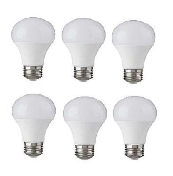 Bộ 6 bóng đèn LED BULB Trụ 12W siêu sáng - A60