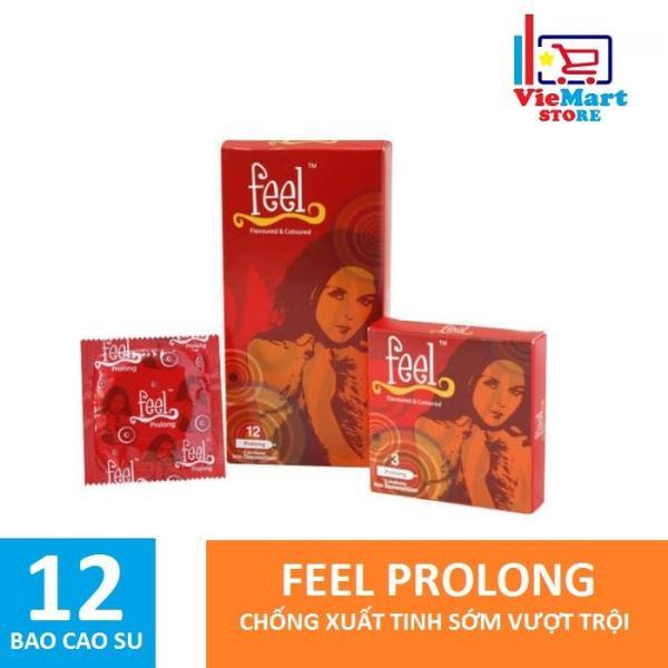 Bao cao su Feel Prolong 12s - Hãng phân phối chính thức.