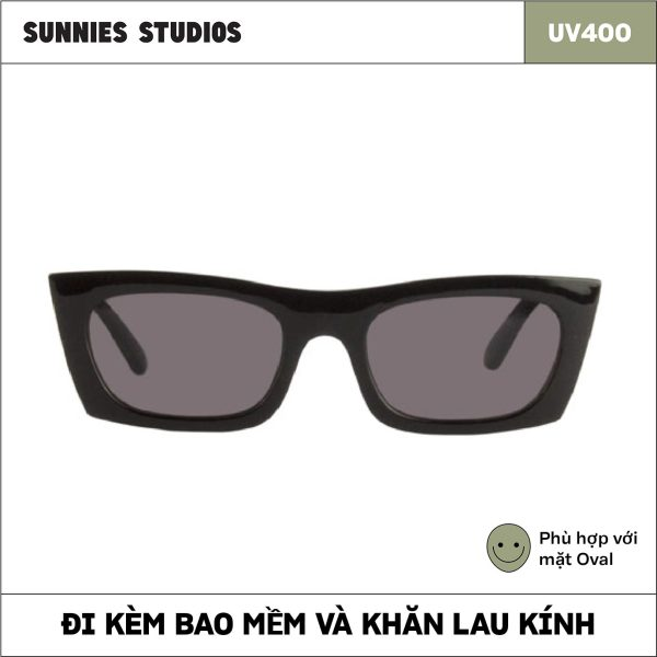 Mua Kính mát Sunnies Studios Gọng Vuông Zio in Ink