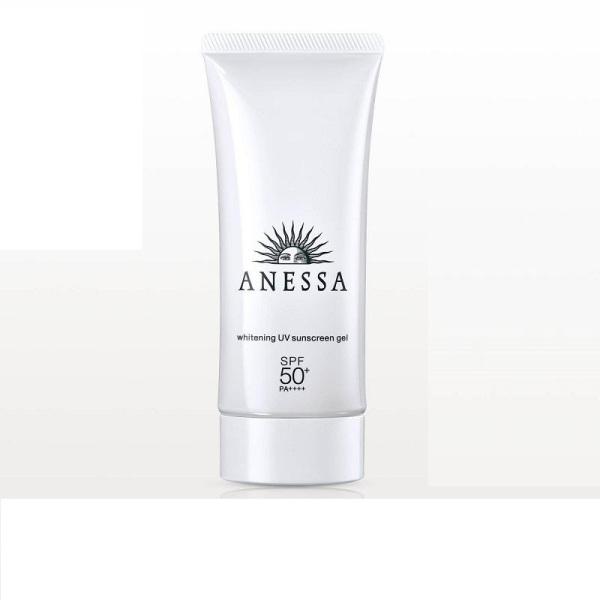 Gel chống nắng dưỡng trắng Anessa Whitening UV Sunscreen Gel - SPF50+, PA++++ - 90g nhập khẩu