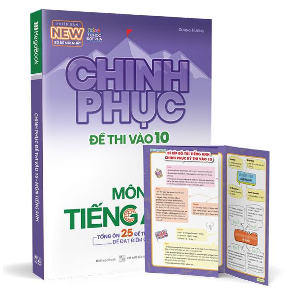 Mua Chinh phục đề thi vào 10 môn tiếng Anh (Bộ đề mới nhất)