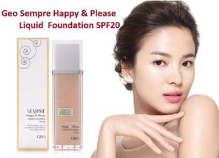 KEM NỀN TRANG ĐIỂM GEO SEMPRE HAPPY & PLEASE LIQUID FOUNDATION thumbnail