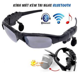 Kính mắt bluetooth, Mắt kiếng, Kính mát kiêm tai nghe bluetooth, Mat kinh co tai nghe bluetooth, Mắt kính tai nghe bluetooth thể thao, Mat kinh MP3 gia re - Mắt kính bluetooth 4.1 thông minh. thumbnail