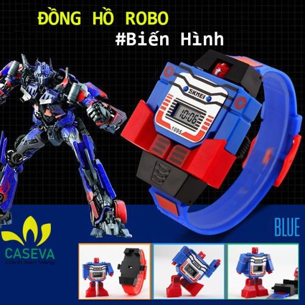 Nơi bán Đồng Hồ Trẻ Em Trai SkMEI W691 Robo Siêu Nhân Biến Hình Bé Trai Mặt 42x55mm