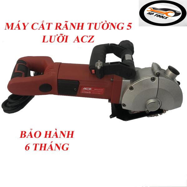Máy cắt tạo rãnh tường 5 lưỡi ACZ K1331-Công suất 2700W-Đầy đủ phụ kiện-Bảo hành 6 tháng
