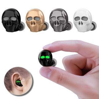 ( SIÊU PHẨM ) Tai Nghe Giá Rẻ , Tai Nghe SK20 Bluetooth Không Dây Cool Skull Bone Có Mic Khử Tiếng Ồn Âm Thanh Trầm Hi-Fi Siêu Nhỏ, Tai Nghe Nhét Tai Bluetooth, Pin Cực Trâu, Không Dễ Rơi, Âm Thanh Sống Động Mãnh Liệt Và Đam Mê- BH 12 Tháng thumbnail