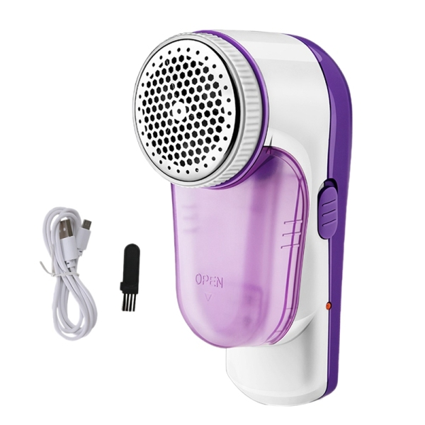 Mini Electric Lint Remover & Fabric Shaver,USB Plug-in Home Stainless Portable Fuzz Remover for Fabric, Pet Hair,Clothes