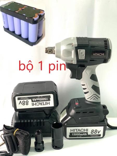 siết bulong hitachi 88v 1 pin