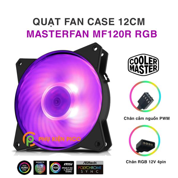 Quạt tản nhiệt case máy tính Cooler Master MasterFan MF120R RGB - Quạt Fan Case 12cm
