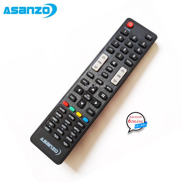 Bảng giá Remote điều khiển tivi Asanzo mẫu 1