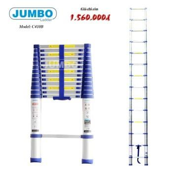 Thang nhôm rút gọn cao cấp Jumbo Model: C410B