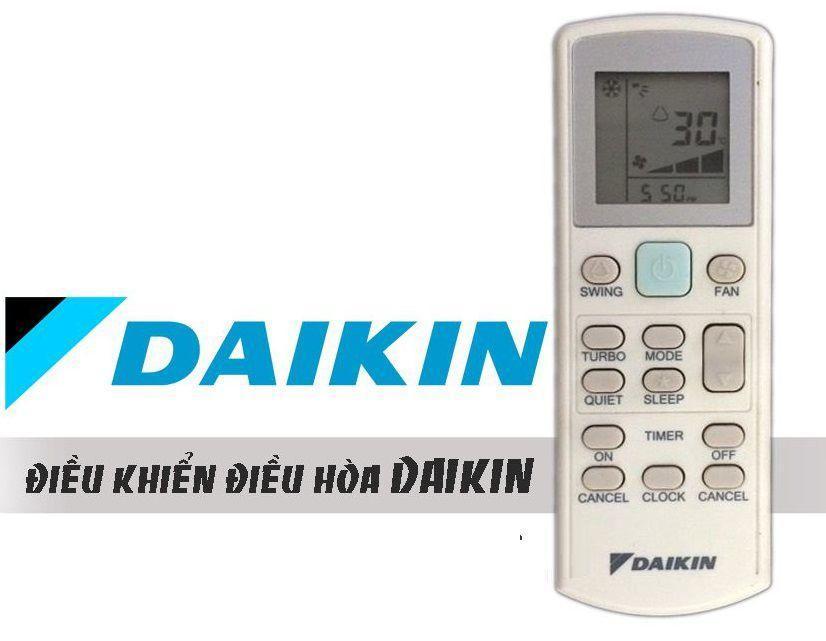 Điều khiển điều hòa Daikin 02 (trắng)