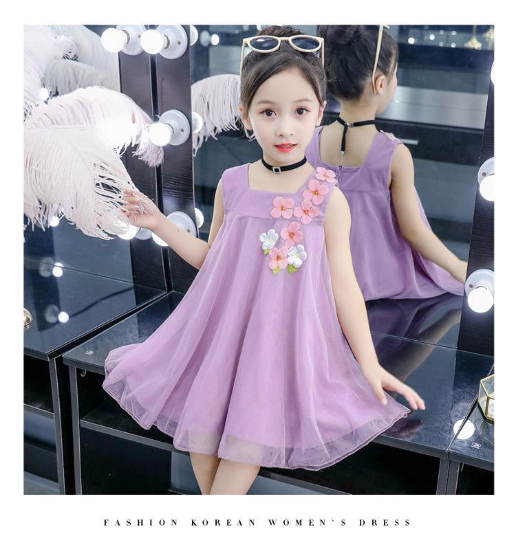 Giá bán Đầm Công chúa ren mềm cực xinh xắn cho bé yêu từ 10-36kg V39