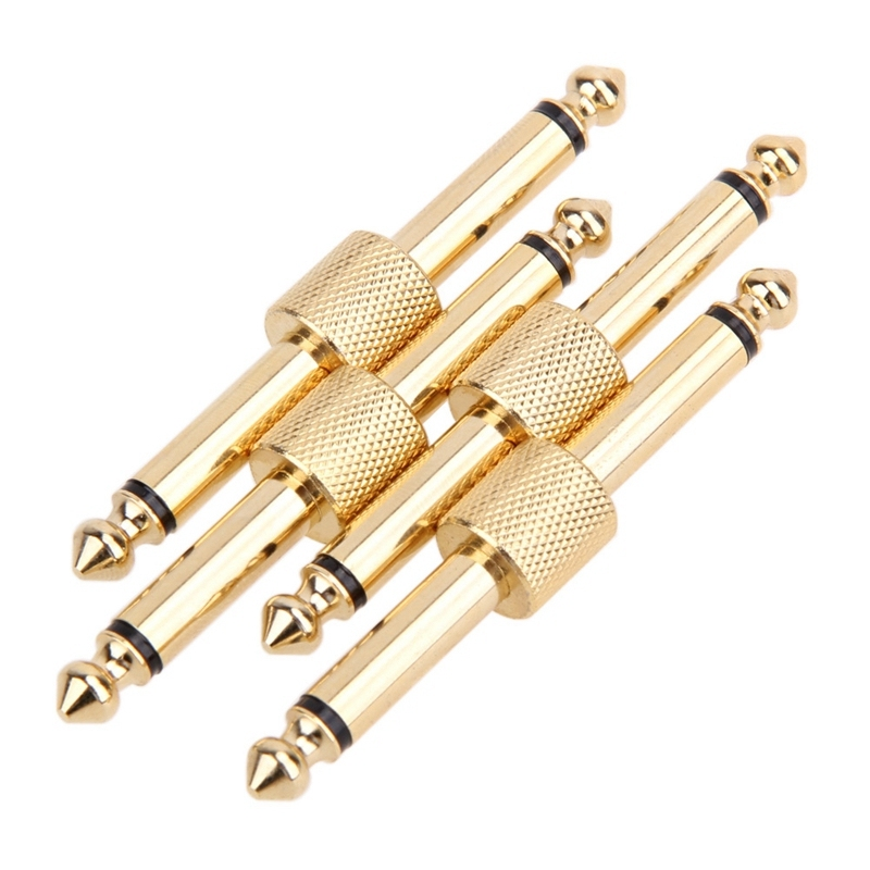 Guitar Pedal Coupler Guitar Effects Pedal to Pedal Connector Straight Type(4 Pack) Malaysia