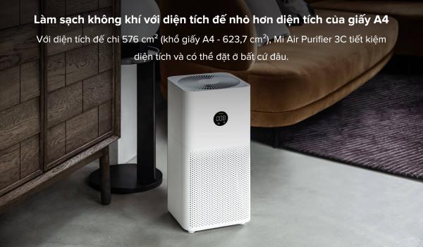 [Trả góp 0%]Máy lọc không khí Xiaomi 3C - Bản Quốc Tế DGW