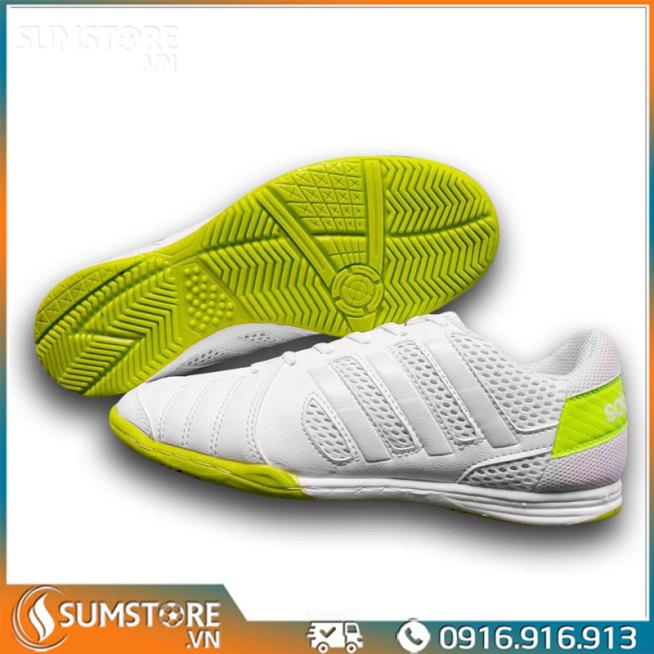 Giày Đá Bóng Đế Bằng Winbro Sala Trắng - Giày Đá Banh Mới 2021 (Tặng Kèm Vớ) giá rẻ