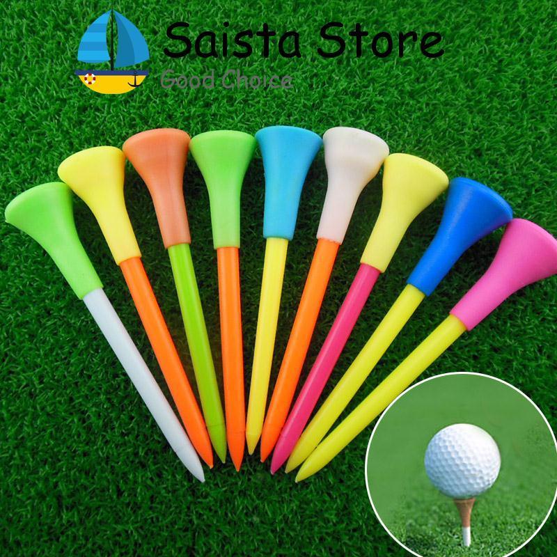Mới 50 cái 85 mét Nhựa Golf Tee Golf Cao Su Đệm Đầu Thiết Bị Phụ Kiện-quốc tế-quốc tế - 5