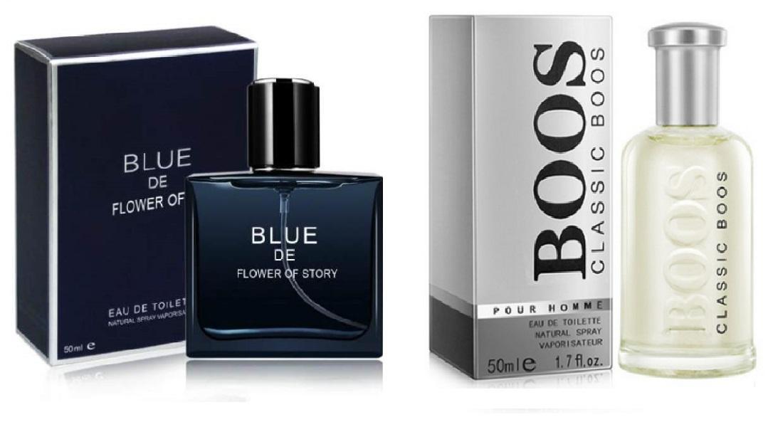 Combo 2 chai nước hoa nam cao cấp khẳng định đẳng cấp phái mạnh ( Blue de Flower + Classic Boos trắng )