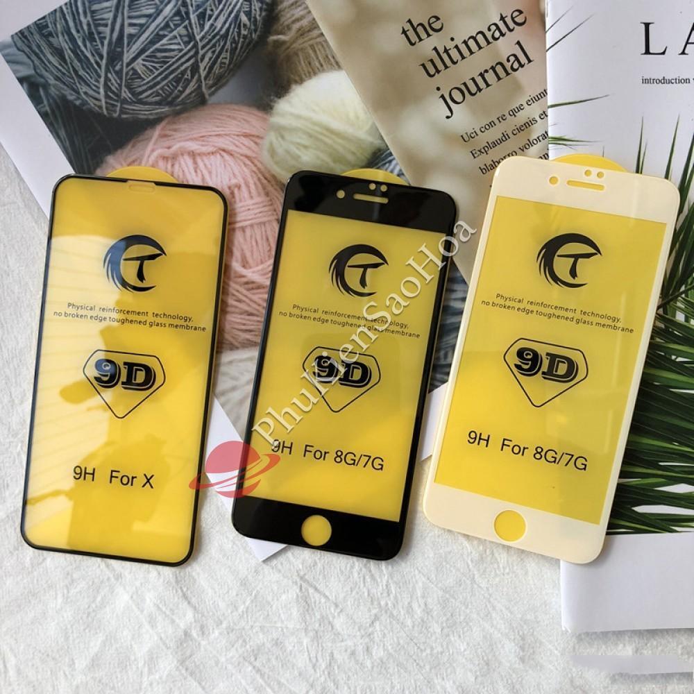 Giá Cực Tốt Khi Mua Kính Cường Lực 9D Xịn Full Màn Cho Iphone Xs Max / XR / X / 6 / 7 / 8 / 6plus / 7plus / 8plus