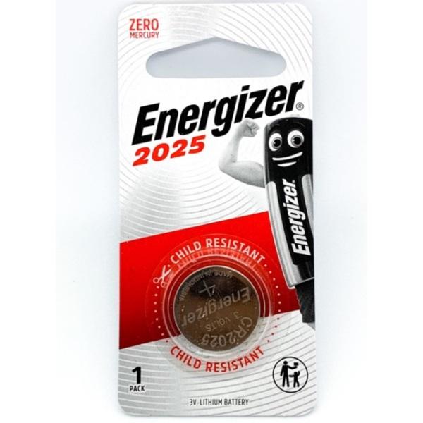 Bảng giá Pin CR2025 ( CR 2025 ) Energizer Lithium 3 Volt Vỉ 1 Viên