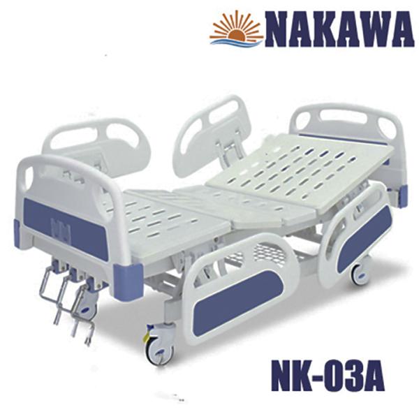 Giường Y Tế 3 Tay Quay Đa Năng ABS - Giường bệnh - Sức khoẻ - Thiết bị y tế - Giường bệnh viện