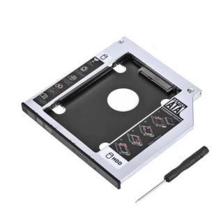 BOX đĩa CD , Box chuyển đổi cd room sang ssd , ,Khay mở rộng ổ cứng , khay gắn hdd ssd cổng dvd 9.5mm , 12.7mm thumbnail