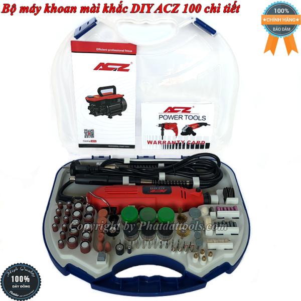 Bộ máy mài khắc đa năng DIY 100 chi tiết ACZ6058