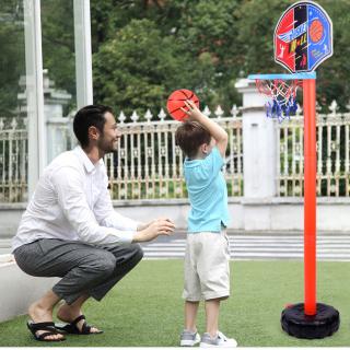 Bộ đồ chơi bóng rổ trẻ em giúp bé phát triển sức khỏe và chiều cao, Kích thích Bé hoạt động thể chất thumbnail