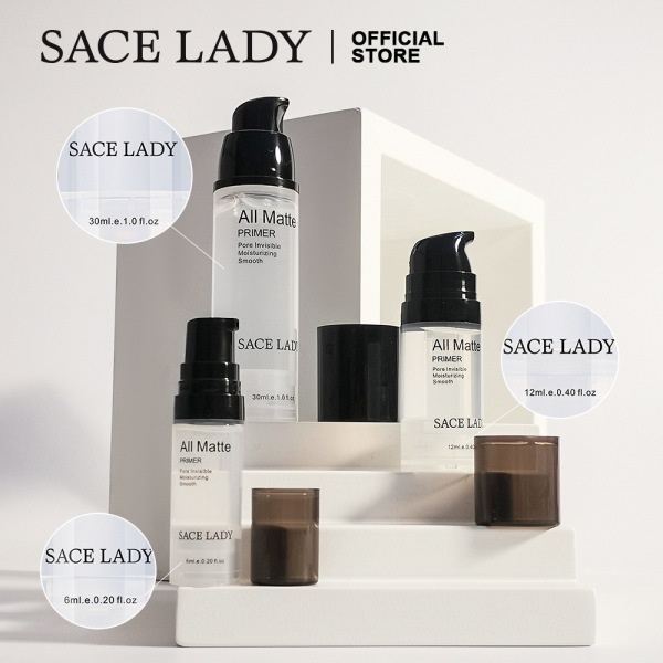 SACE LADY Isolate Makeup Primer Lotion 6ml All Matte Primer BB Crystal Jelly Pore Invisible Moisturizing Smooth