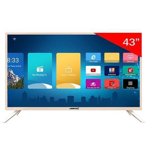 Smart TV Asanzo 43AS560 43 inch  Tivi thông minh  Tích hợp truyền hình KTS