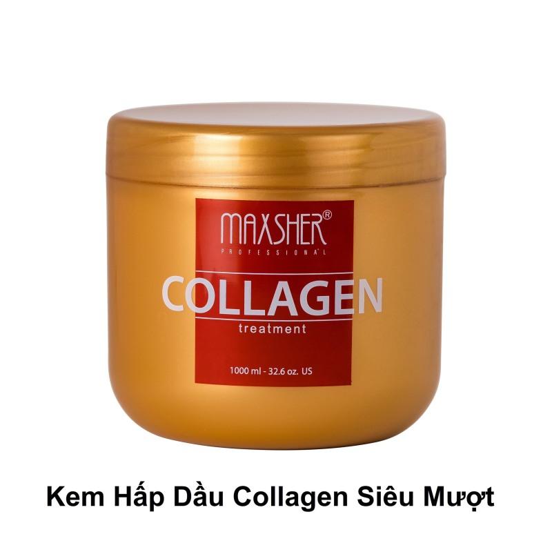 Hấp dầu collagen phục hồi tóc cao cấp