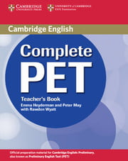 Fahasa - Complete Pet Teacher's Book