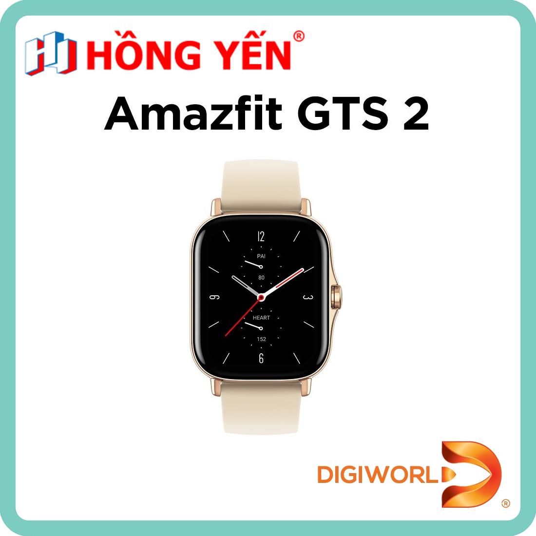 Đồng hồ thông minh Xiaomi Amazfit GTS 2 - Hàng Chính Hãng - Digiworld Phân Phối - Bảo Hành 12 Tháng