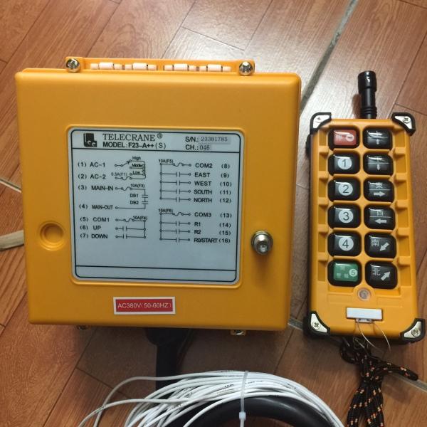 Bộ điều khiển từ xa cầu trục F23-A++ TELEYDING 380VAC