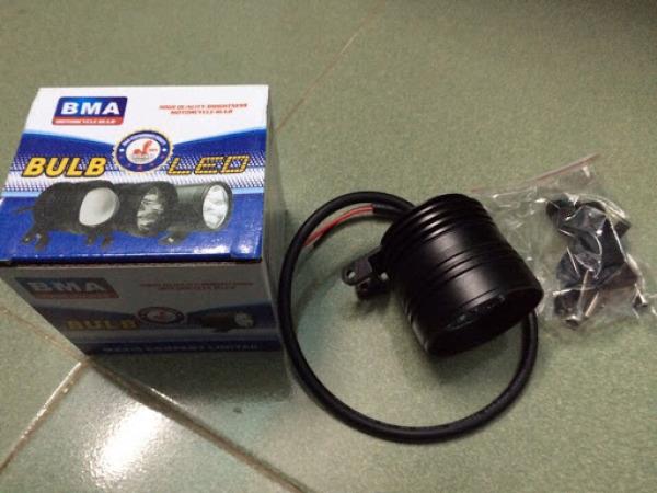 Đèn trợ sáng , đèn pha led L4 ngắn siêu sáng 4 x 5W + Tặng công tắc - Bảo hành 6 tháng