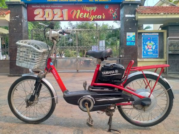 Mua Xe đạp điện Yamaha màu đỏ đã qua sử dụng