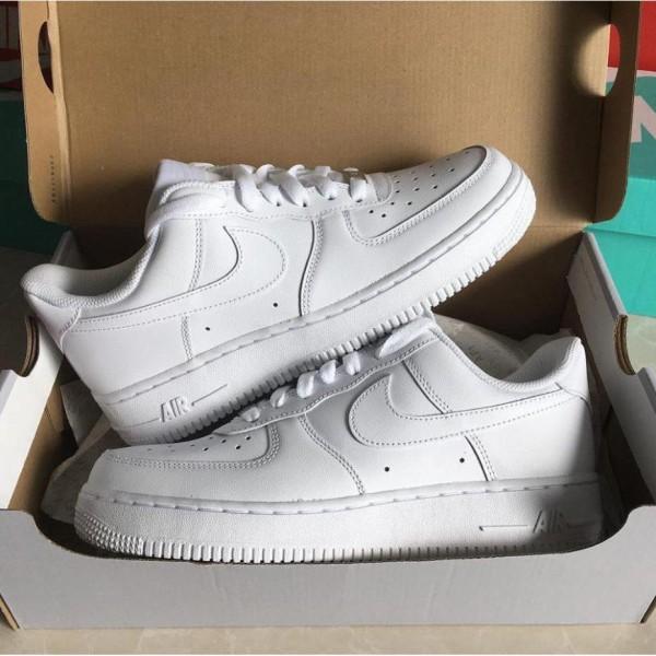𝐆𝐢à𝐲 𝐀𝐅𝟏 ⚡️Tổng Kho⚡️ Giày Sneaker 𝐀𝐅𝟏 Trắng Full Nam Nữ Hàng Cao Cấp Full Box Bill