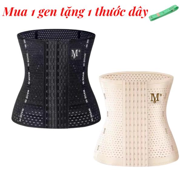 Đai nịt bụng định hình 6 nấc cài - 4 thanh chống cuộn - chiều cao gen 25cm - gen bụng tạo vòng eo thon gọn - gen nịt bụng chống cuộn - đai nịch bụng giảm mỡ sau sinh - đồ lót định hình - miếng nâng bụng - HIN Fashion G02