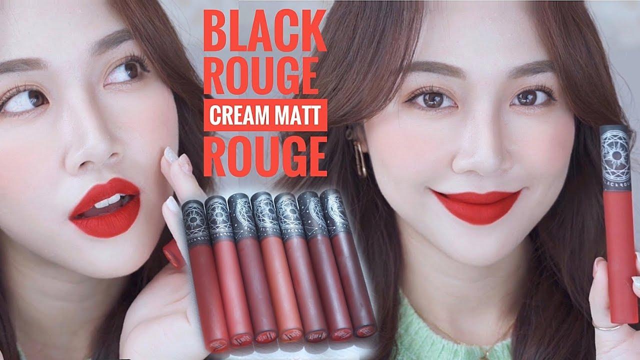 Son Kem Lì Black Rouge Creamy Matt Rouge Ngôi Sao Hoàng Đạo, Màu ...