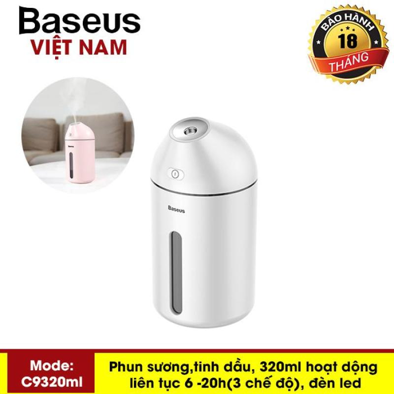 Máy phun sương, tinh dầu đa năng tạo độ ẩm chăm sóc da thương hiệu cao cấp Baseus C9 dung tích 320ml - Phân phối bởi Baseus Vietnam
